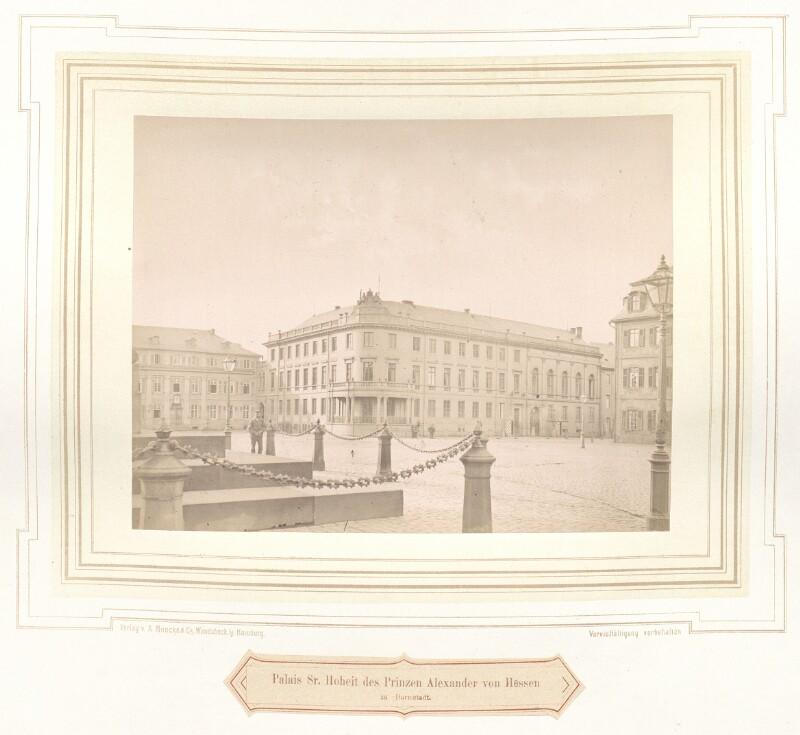 Prinz-Alexander-Palais in Darmstadt