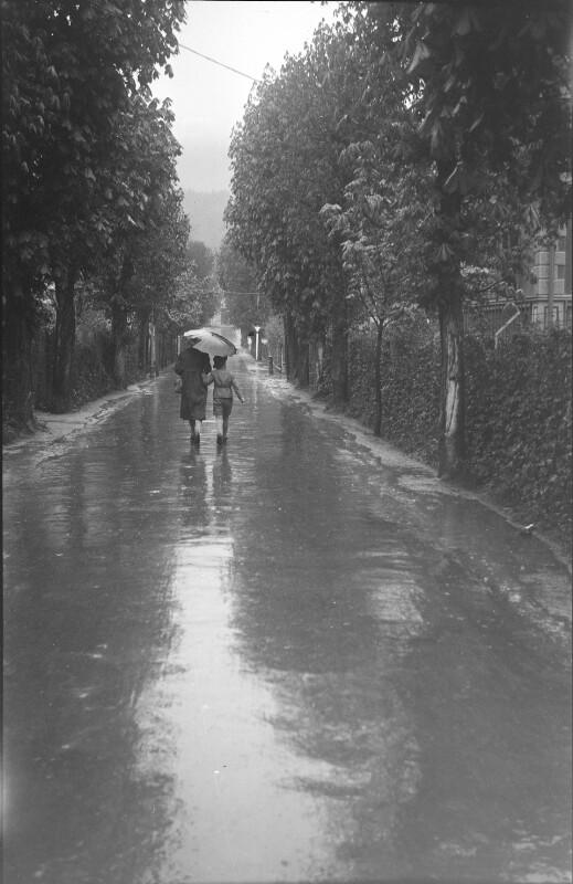 Spaziergang in Neuberg/Mürz 1940