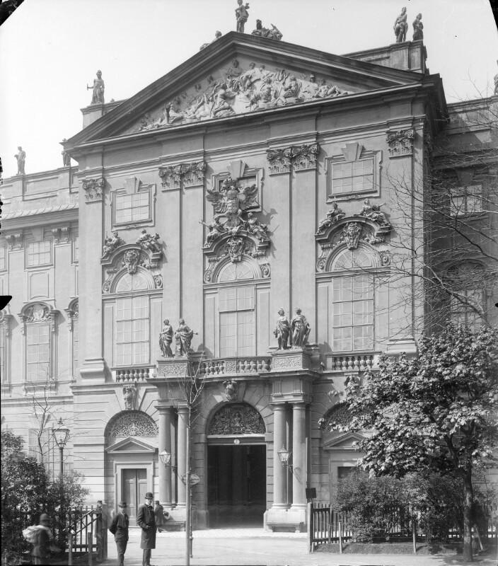 Wien 8, Palais Trautson (Ungarische Garde)