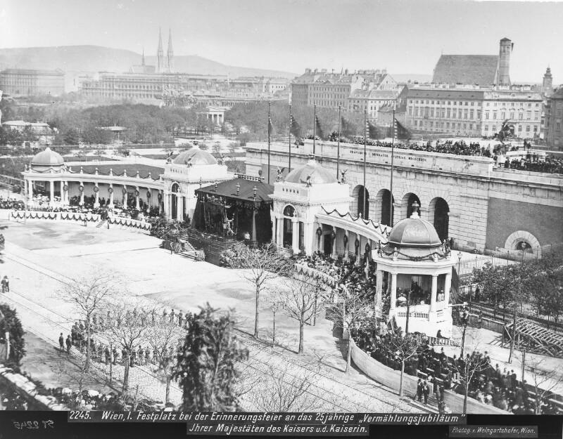 Wien 1, Festplatz vor dem Äußeren Burgtor