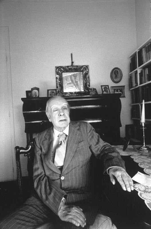 Bildnis Jorge Luis Borges