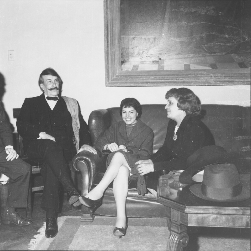 Gruppenbild mit Alfredo Palacios