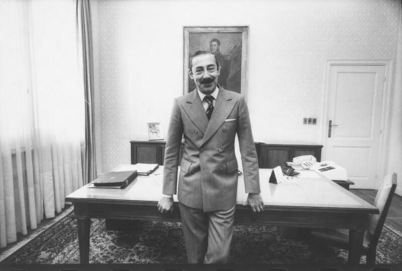 Bildnis General Videla, Ex-Präsident