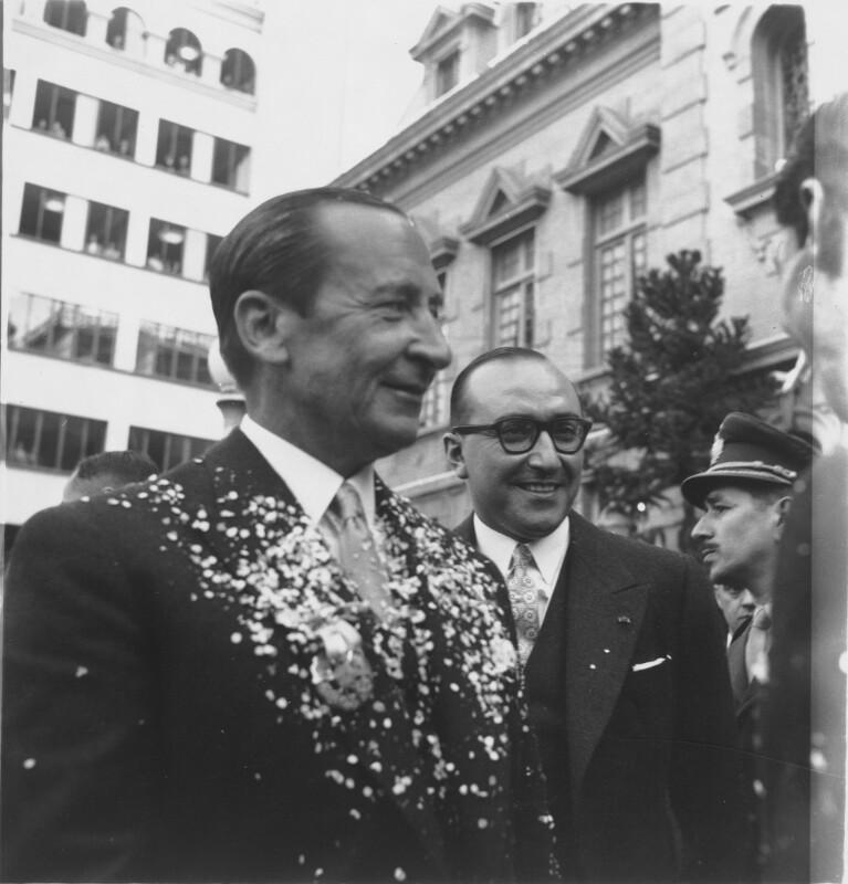 Bildnis Aramburu, argentinischer Präsident