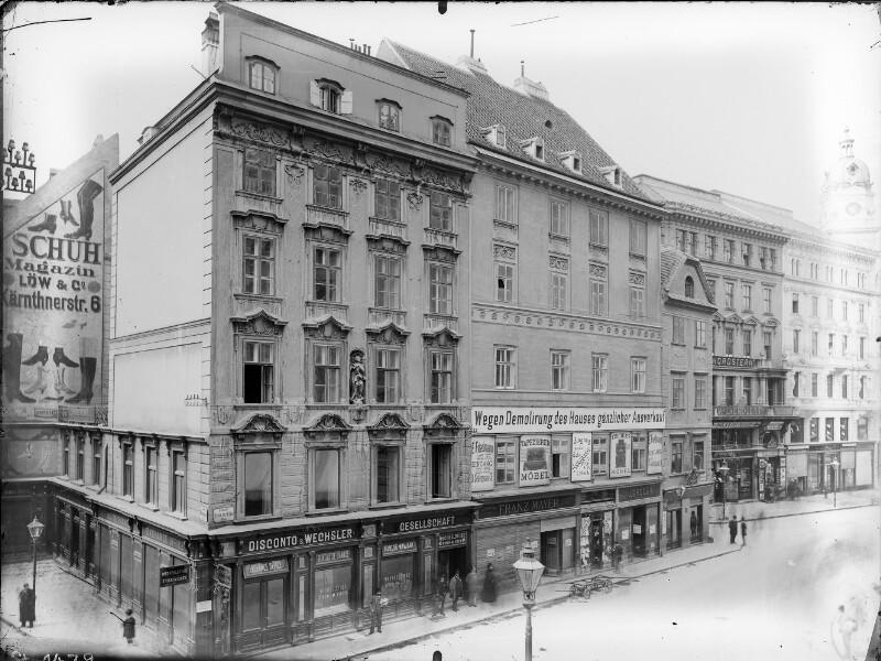 Wien 1, Graben/Stock im Eisen-Platz