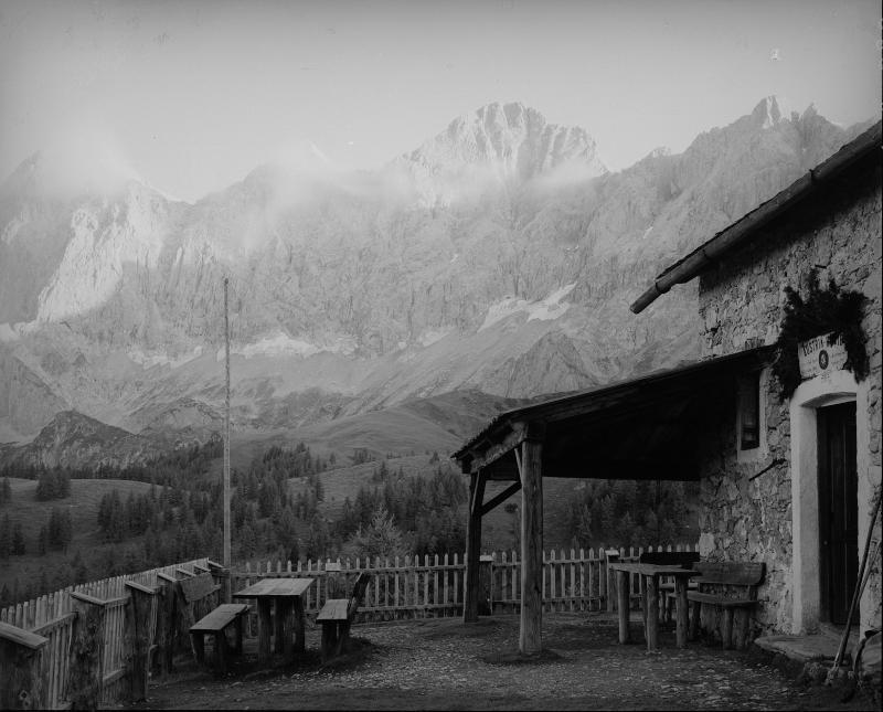 Austriahütte auf dem Brandriedel