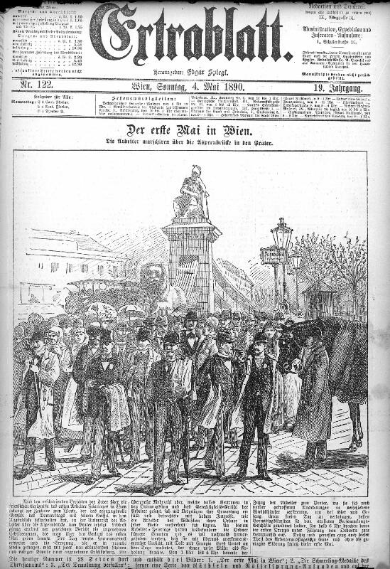 Erster Mai 1890