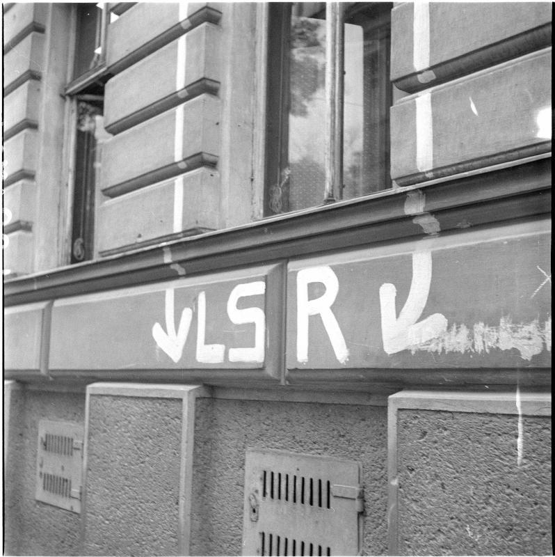 Wien, Eingang in einen Luftschutzraum
