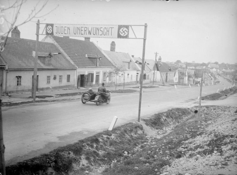Nach dem Anschluss ans Dritte Reich