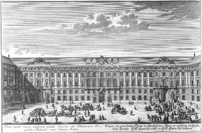 Wien 1, Hofkanzlei der Wiener Hofburg
