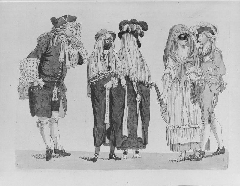 Wien, Fasching 1791