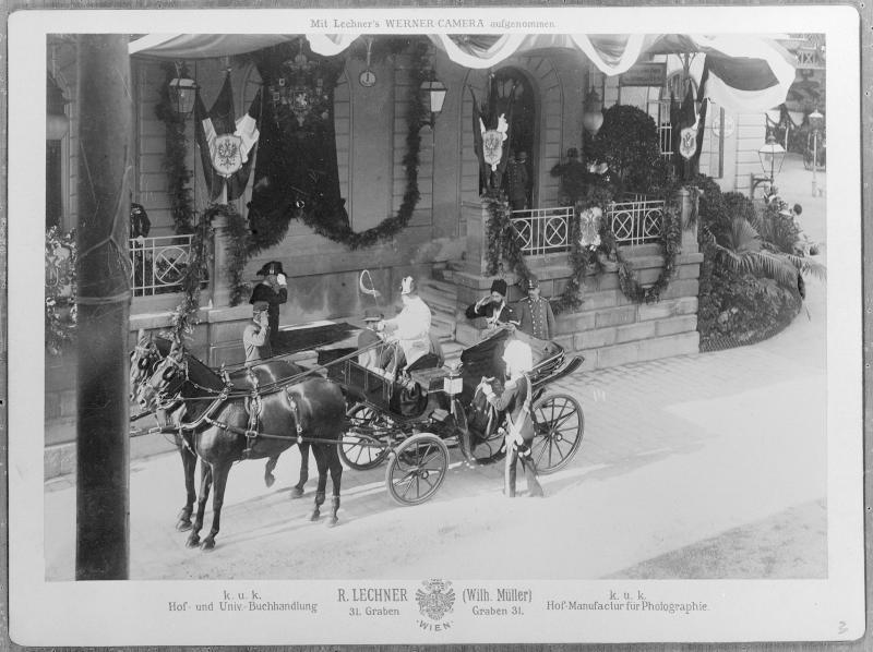 Staatsbesuch von Zar Nikolaus II. von Russland