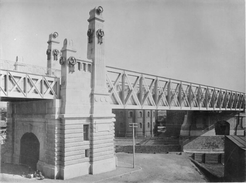 Wien 6, Stadtbahnbrücke