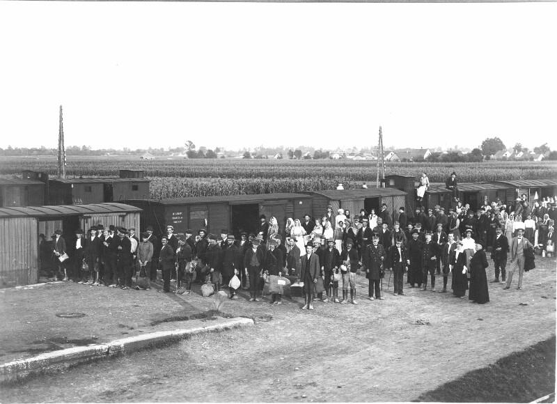 Flüchtlingsfürsorge im 1. Weltkrieg