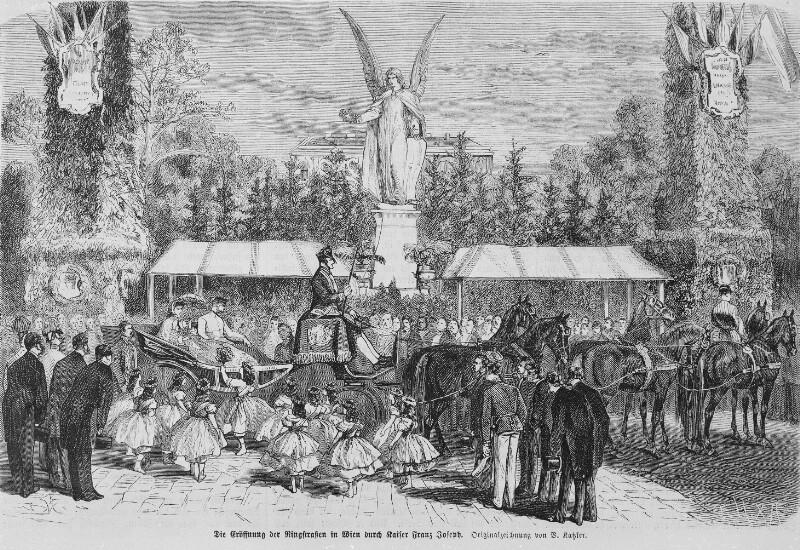 Eröffnung der Wiener Ringstraße 1865