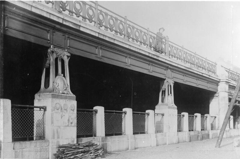 Galerie der Stadtbahn am Donaukanal