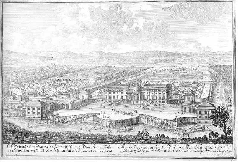 Palais Schwarzenberg um 1715