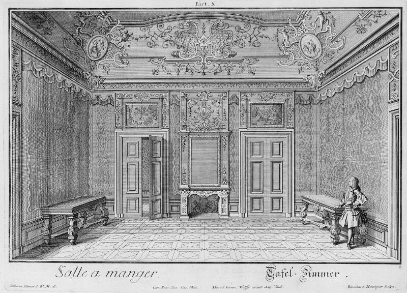 Wien 3, Rennweg Unteres Belvedere, 'Tafelzimmer'