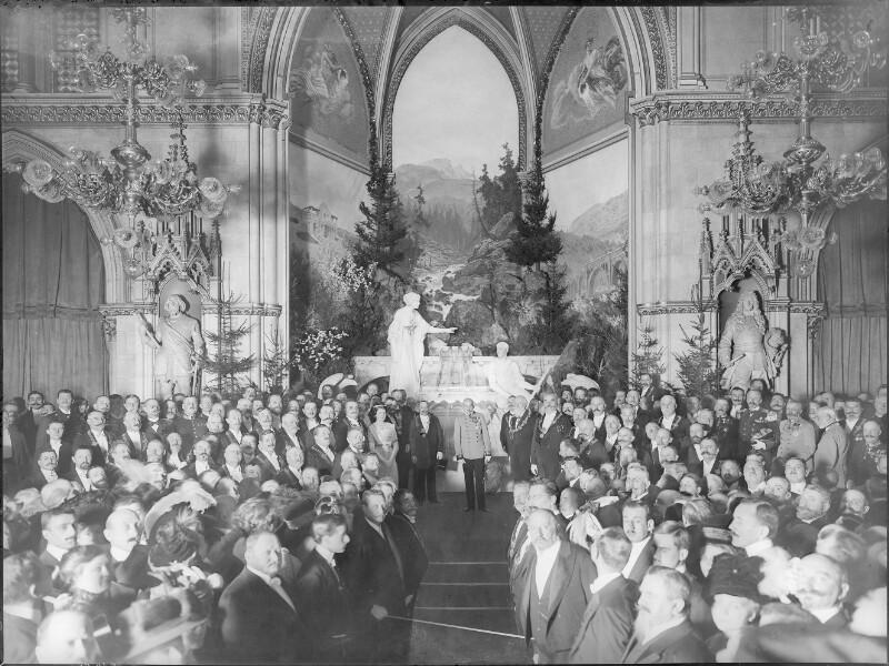Festakt im Wiener Rathaus