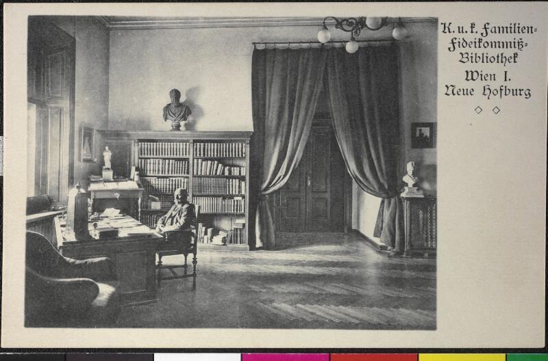 Wien I, Hofburg - K. u. k. Familien-Fideikomissbibliothek
