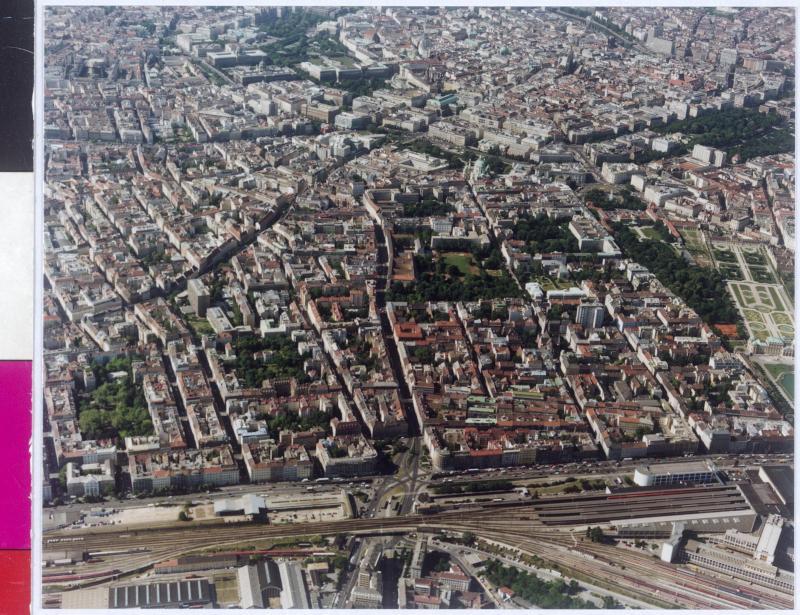 Flugbild Wien