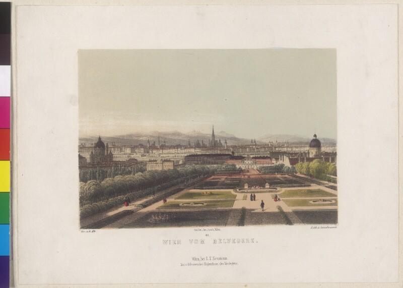 Wien vom Belvedere