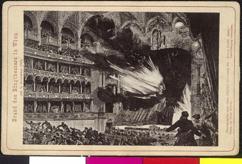 Brand des Ringtheaters in Wien am 8. December 1881