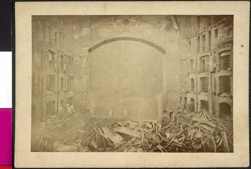 Brand des Ringtheaters am 8. Dezember 1881