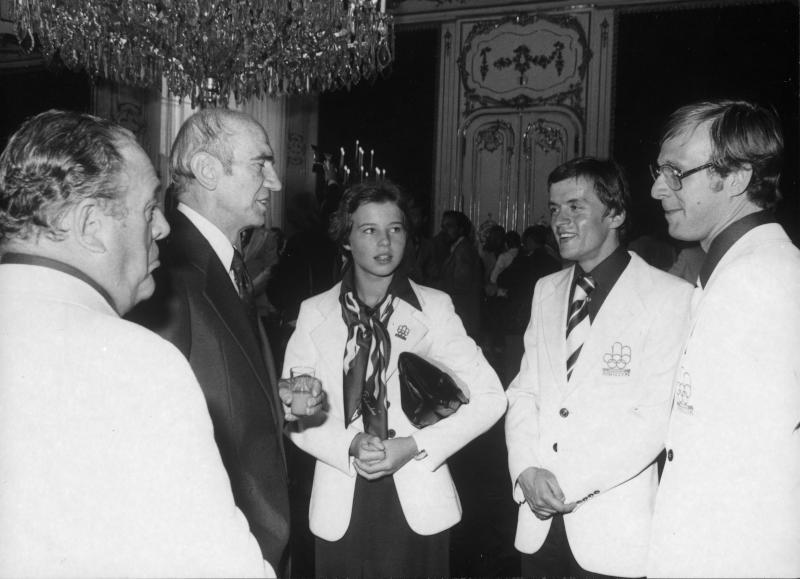 Angelobung der Olympiamannschaft in der Präsidentschaftskanzlei