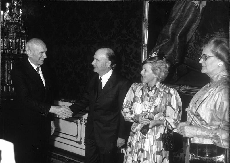 Staatsbesuch des irischen Staatspräsidenten Hillery