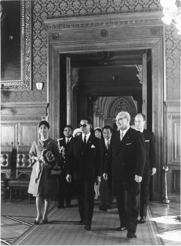 Staatsbesuch des thailändischen Königspaares in Österreich