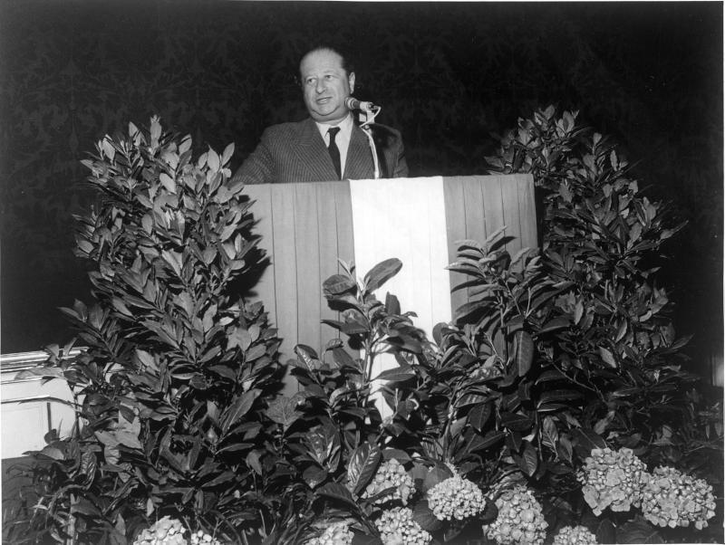 Verabschiedung von Bruno Kreisky im Außenministerium