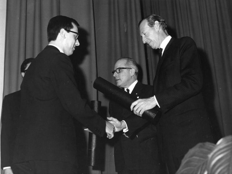 Abschlussfeier der Diplomatischen Akademie