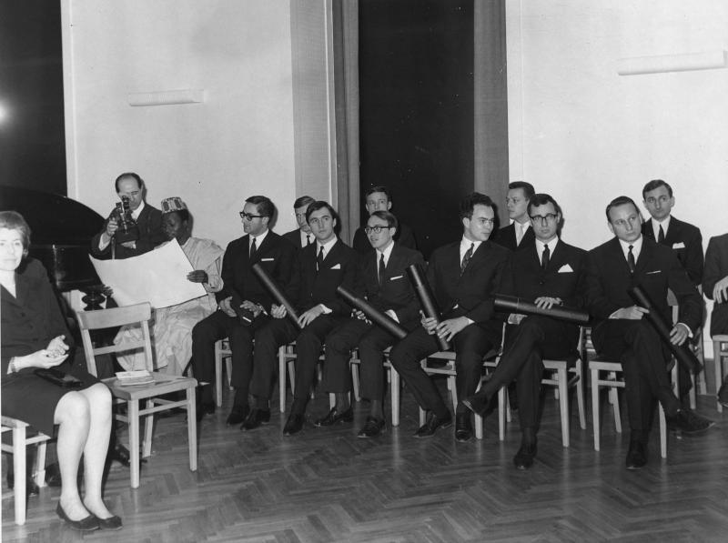 Abschlussfeier an der Diplomatischen Akademie