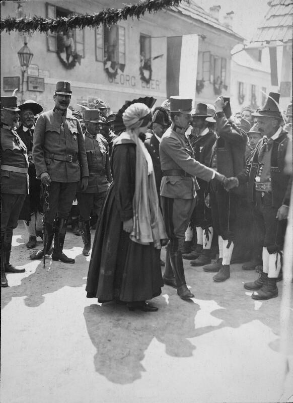 Kaiser Karl und Kaiserin Zita in Bozen