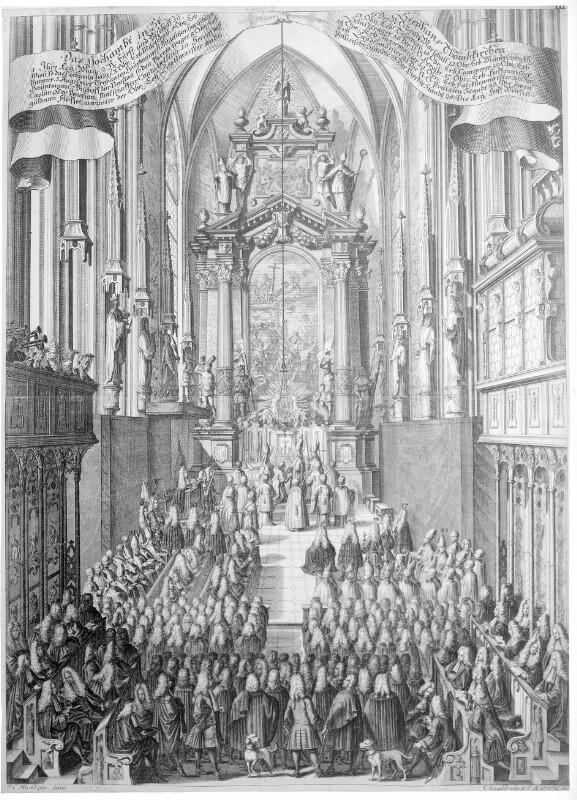 Wien 1, Hochamt im Stephansdom