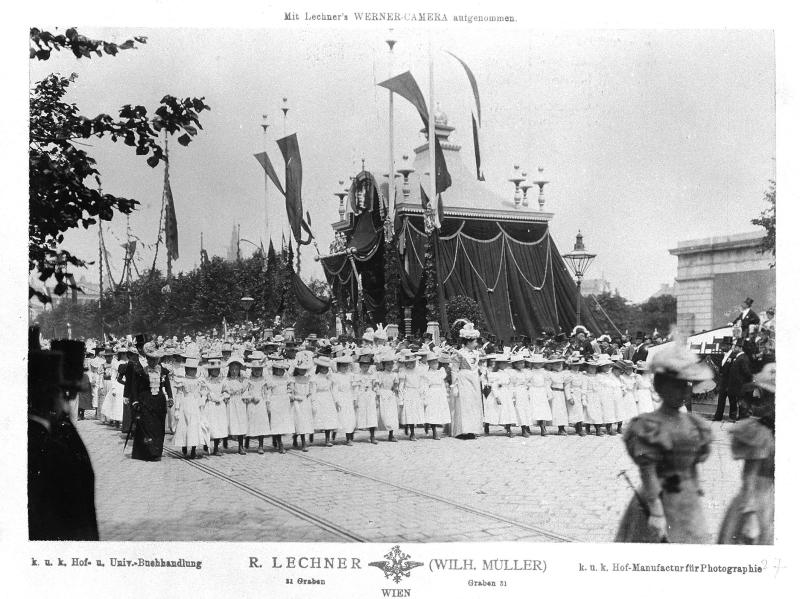Huldigungsfestzug der Wiener Kinder
