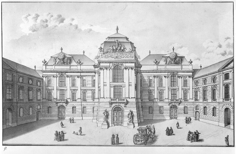 Wien 1, Hofbibliothek