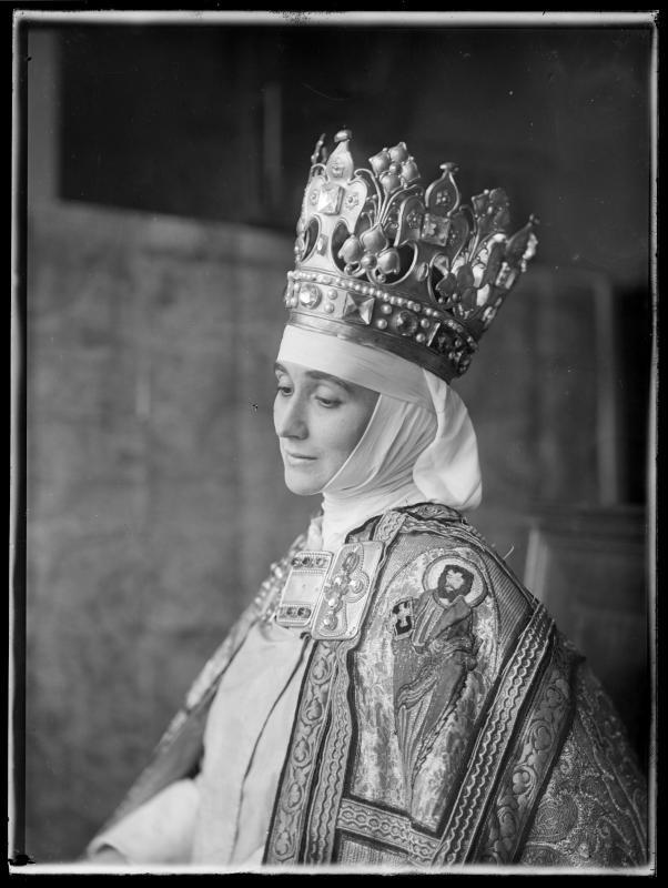 Bildnis Maria Carmi-Vollmöller (1889-1957) als Madonna