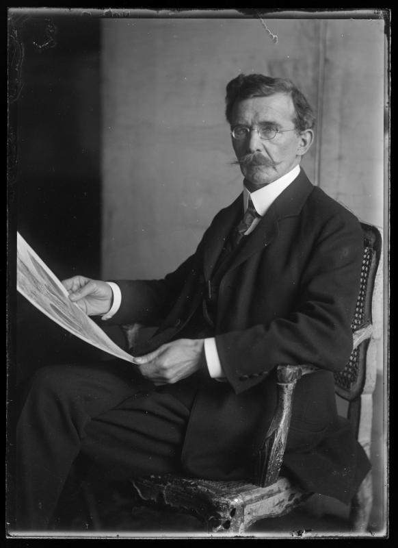 Bildnis Josef Meder (1857-1934)