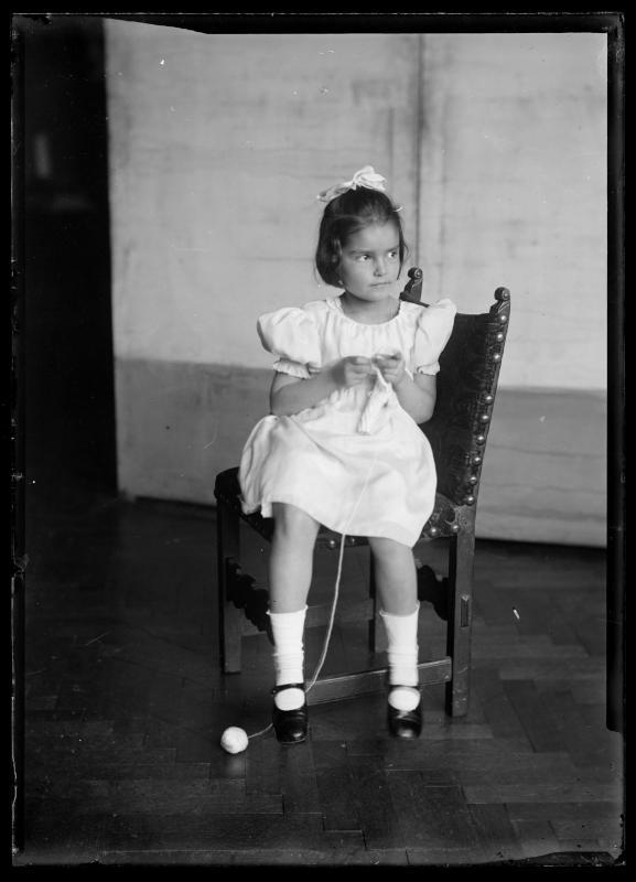 Bildnis Susanne Schmutzer (1911-1991) als Kind