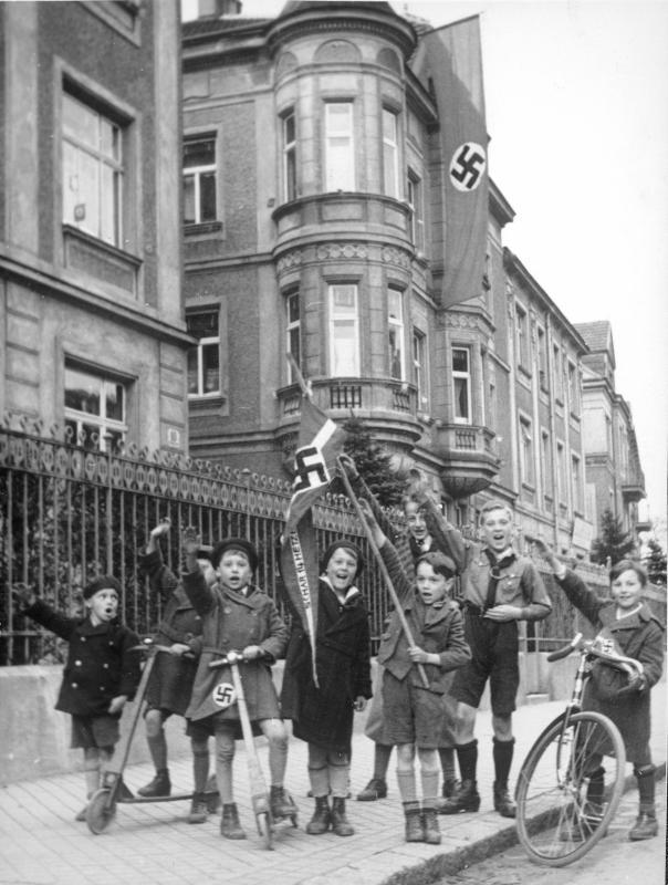 """""""Schar Hetzendorf"""" des NS-Jungvolks"""