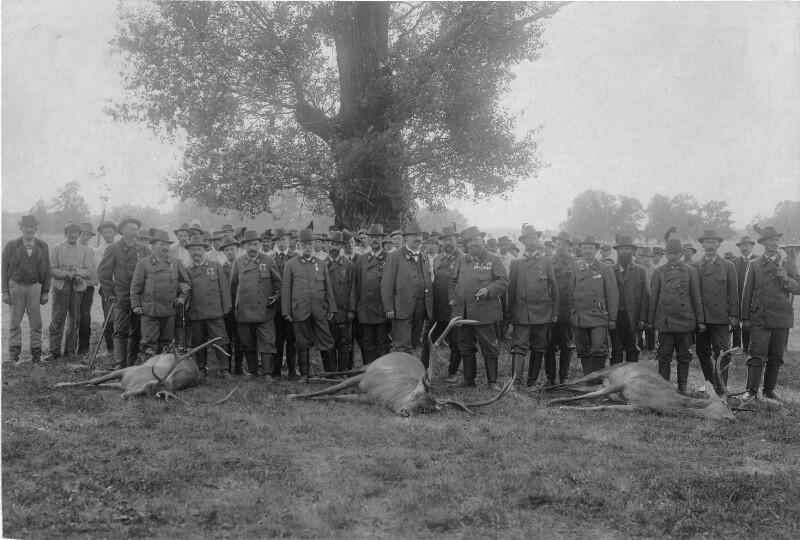 Staatsbesuch von König Edward VII. von England