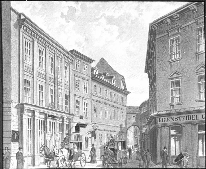 Wien 1, Riemergasse 5/Zedlitzgasse 1