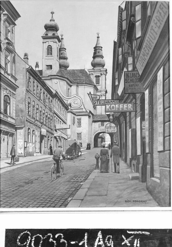 Richard Pokorny, Wien: Barnabitengasse