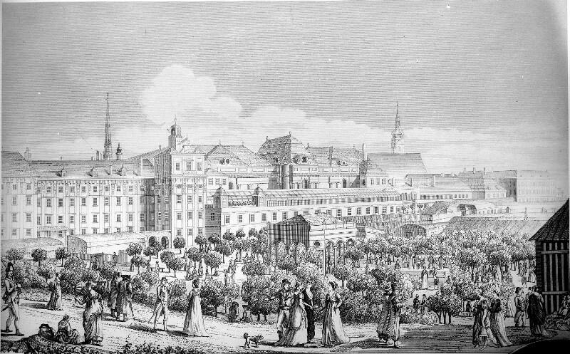 Platz an der Burgbastei 1797