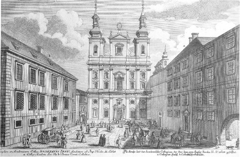Wien 1, Universitätsplatz (heute Dr. Ignaz-Seipel-Platz)