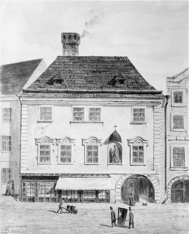 Wien 1, Rauhensteingasse 8 (Konskr.Nr. 934)