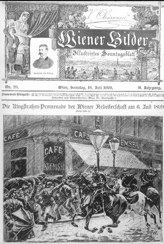 Arbeiterdemonstration 1899