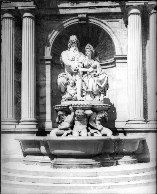 Wien 1, Albrechtsbrunnen (Danubiusbrunnen)